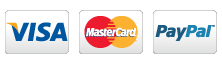 Logo Carte bancaire Visa Master card paypal