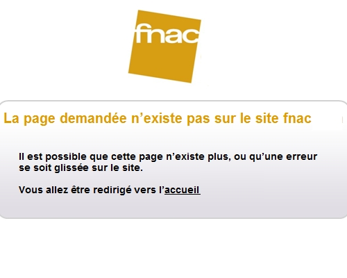 page 404 fnac