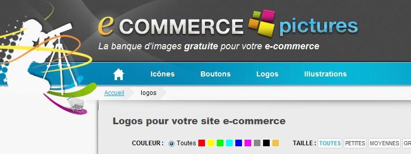 logo gratuit e commerce
