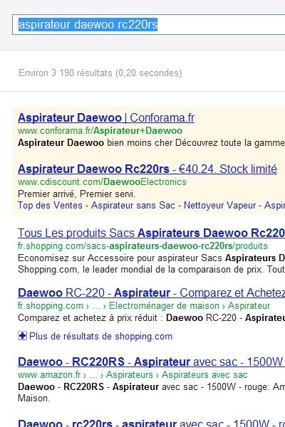 recherche video ecommerce