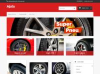 aperçu template de pneus pour PrestaShop