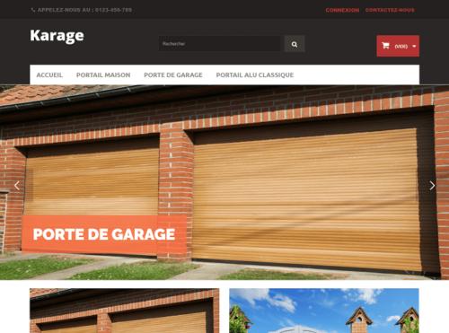 Template Porte de Maison et de Garage pour PrestaShop 1.6